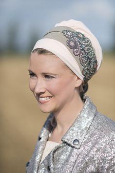 Hair scarf, head scarf and hair accessory  http://www.rinatilakel.com/