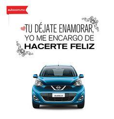 Dulces palabras de un Nissan para su dueño. #Nissan #Autocom #Love #Inlove
