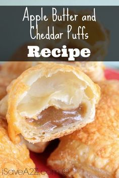 Check out our neat and amazing recipe for our Apple Butter and Cheddar Puffs! If you're looking for great desserts, then look no further!