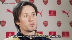 Tomáš Rosický knows where it's at. #COYG #FOYS #Arsenal