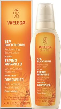 Sea Buckthorn Replenishing Body Lotion by Weleda