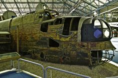 Remains, Nose of Handley Page Halifax II, W1048, RAF Museum, Hendon Handley Page Halifax, Total War, Yorkshire England, Royal Air Force, Archaeology, Airplanes, Ww2, Abandoned, Aviation