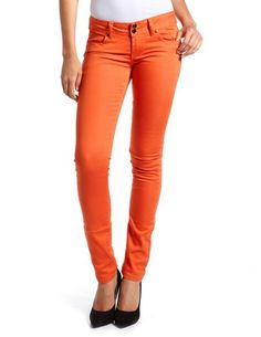 #fall #orange #jeans @Charlotte Carnevale Russe ... I want one now!
