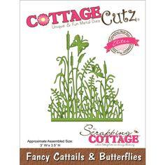 CottageCutz Elites Die Cuts, 3 by 3.5-Inch, Fancy Cattails and Butterflies CottageCutz http://www.amazon.com/dp/B00DV8XPZ0/ref=cm_sw_r_pi_dp_9Wc0ub14V3TEY