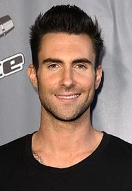Adam Levine-I dont like skinny guys or tattoos BUT there is always an exception to the rule.