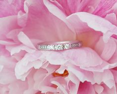 Paletti Jewelry #Amelie K100-405VK diamond ring @ whitefeatherdream-blog