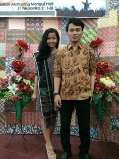 Batik modern with man in mind