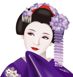 Work of geisha. Copyright Free Images, Geisha Art, Free Vector Art, Classical Music, Image Now, Royalty, Japan, Dance, Disney Characters