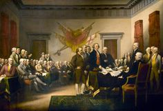 This poster rounds out the Declaration of Independence theme I have happening this fall. John Trumbull (Declaration of Independence) Art Poster Print