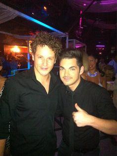 Con el cantante @danieldiges disfrutando de esta noche de lunes en #LaPosada @RaulRuda