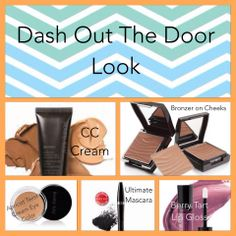 Dash out the door look. My everyday, go to look. Be polished and out the door in 5 minutes flat! www.marykay.com/LNBell