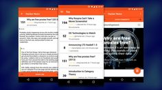 Hacker News is a fairly new open source Hacker News client for Android. #android #materialdesign #apps