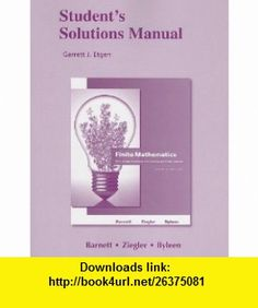 Student solutions manual for calculus for business economics life student solutions manual for finite mathematics for business economics life sciences and social sciences fandeluxe Gallery