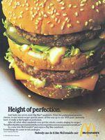 The Best Resource on the Net of Vintage Ads! McDonald's New Southwest Salad. White Castle Hamburgers, Richard And Maurice Mcdonald, International House Of Pancakes, Ihop Pancakes, Mcdonalds Fast Food, Southwest Salad, Mac Recipe, Kentucky Fried
