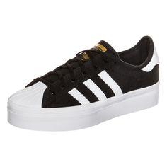 adidas Originals SUPERSTAR RIZE Sneaker core black/white/gold auf Stylelounge.de