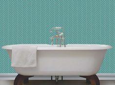 wallpaperjohn.co.uk wp-content uploads 2015 12 teal-and-cream-with-glitter-herringbone-tile-design-600-530x396.jpg