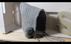 Aprende a tejer tu primera capota a Dos agujas a juego con la ranitas (cubre pañales) .Punto bobo .Animate a tejer el conjunto !!!!! TALLA 0 a 3 meses :) Gor...