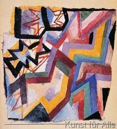 Paul Klee - Farbige und grafische Winkel