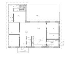 PASTELLIMAJA: MEIDÄN TALO Floor Plans, Layout, Flooring, How To Plan, Architecture, House, Arquitetura, Page Layout, Home