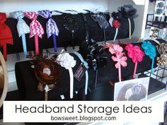 BowSweet: Tuesday Tips: Headband Storage Ideas