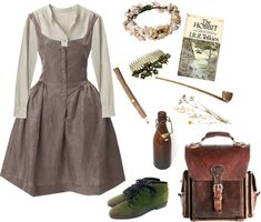 Let's Run Away. by melissalackey on Polyvore featuring moda, Vivienne Westwood, Margaret Howell, vintage, floral and neutral