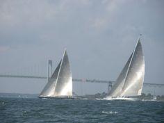 J-Boats before the bridge