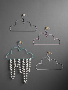 Cloud Coat Hanger - Grey