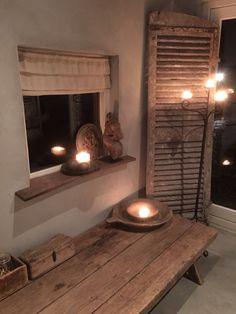 Landelijke boeren stijl Barn Living, Home And Living, Living Room, Deco Nature, Interior Decorating, Sweet Home, Home And Garden, House Styles, Inspiration