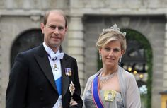 HRH The Prince Edward Antony Richard Louis, The Earl of Wessex, HRH Sophie Helen, The Countess of Wessex