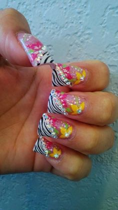 Nail shape is hideous design is cute