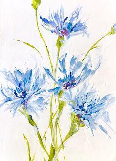 """Sara's Hope"" Cornflower www.susanpepedesigns.com"