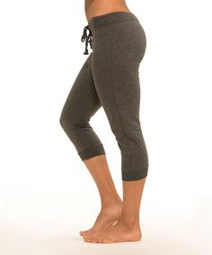 Look what I found on #zulily! Charcoal Gray Drawstring Joggers - Women #zulilyfinds