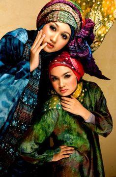 "Hijab Style Islamic Clothing | Young Designers hijab ""Dian Pelangi"" 1"