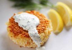 Croquetas de salmón ahumado y patatas