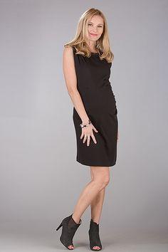 Společenské šaty pro těhotné černé barvy Dresses For Work, Black, Fashion, Moda, Black People, Fashion Styles, Fashion Illustrations