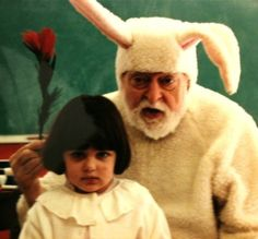 47 Easter Bunnies more terrifying than a crucified man coming back from the…