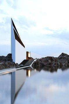Modern Architecture #architeture #pin_it @Mundo das Casas Veja mais aqui(See more here)