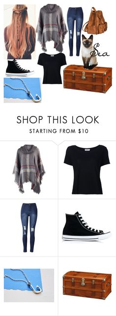 """""""Hogwarts Express - Brooklyn"""" by twilightphonix on Polyvore featuring Frame Denim, Converse, DutchCrafters and Yves Saint Laurent"""