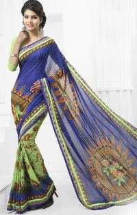 winning-blue-parrot-green-georgette-flower-print-800x1100.jpg