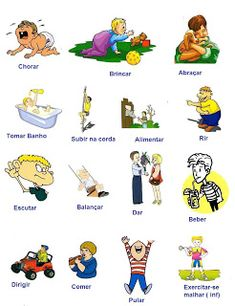 Learn Portuguese - Courses online : The Most Popular Verbs in Portuguese Learn To Speak Portuguese, Learn Brazilian Portuguese, Portuguese Lessons, Spanish Lessons, Spanish Games, Learn French, Learn English, Learn Spanish, Portuguese Language