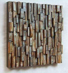 Wooden blocks panels - Recyclart | Recyclart