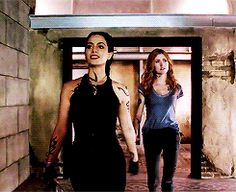 Izzy and Clary