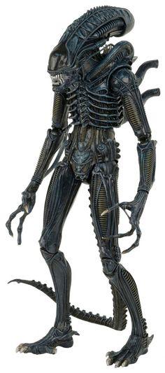 Aliens figurine 1/4 1986 Warrior Neca