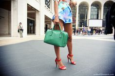 song of style street style ss/2013 fashion week New York