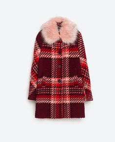 129€ MANTEAU À CARREAUX de Zara