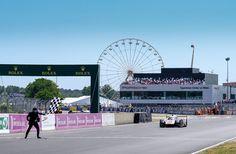 LM17 - That sensational moment when #2 #Porsche Timo Bernhard took the #LeMans24 Chequered Flag • • • Photo: Adrenal Media • • • #WEC #LeMans24 #endurance #motorsport #racing #Porsche
