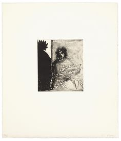 Fifty Etchings by Christopher Le Brun - Paragon Etchings, Triangle, Contemporary, Brown