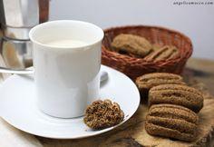 Biscotti da inzuppo al caffè di cicoria senza glutine e lattosio