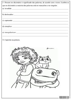 SOS PROFESSOR-ATIVIDADES: Filme Sos Professor, Snoopy, Angry Birds, Fictional Characters, Meaning Of Words, Top Reads, Math Activities, Movies, Literatura