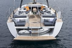 Beneteau Oceanis 60 with dinghy - Google Search